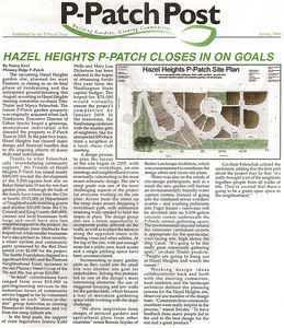 Media - Hazel Heights P-Patch
