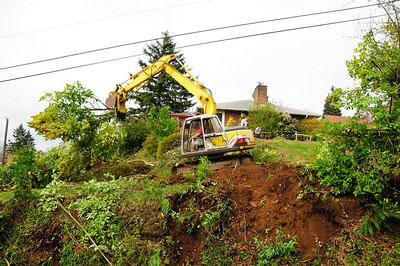 Site clearing   April 16, 2009