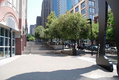 Seattle Art Museum hillclimb on University Street